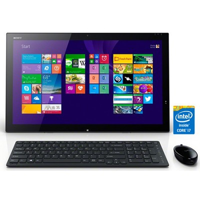 Tap 21 SVT21227CXB 21.5` Touch Portable All-In-One PC - Intel Core i7-4500U Proc