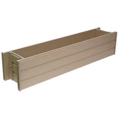 EcoChoice 30` Rect Window Box Planter - EPWB103R30