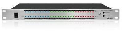 dB-S28 1/2U Rack Mount dB Display (Silver)