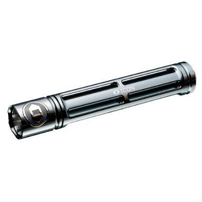RG202A - Rouge 2 Flashlight - Titanium Gray
