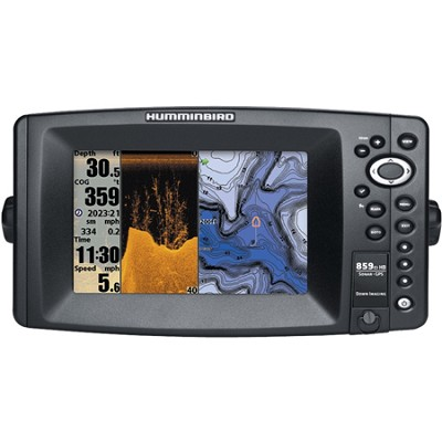 859ci HD DI Combo 7` Color Temp/GPS and Sonar Fish-Finder