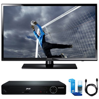 40-Inch Full 1080p HD 60Hz LED TV w/ HDMI DVD Player Bundle
