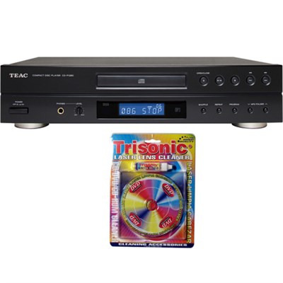 CD Player w/ LCD and MP3 Playback CD-P1260 with Trisonic Laser Lens Cleaner