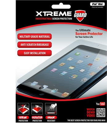 Indestructible Impact Proof Screen Protector for Ipad Mini