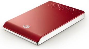 500GB USB2.0 Freeagent Go (Red)
