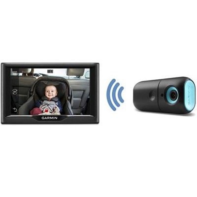 Drive 50 GPS w/ Lifetime map updates + Garmin Wireless in-car Baby/Child Monitor