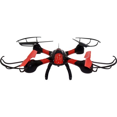 Galaxy Seeker FPV Small Quadcopter (Red/Black) - ODY-1810-FPV - ***AS IS***