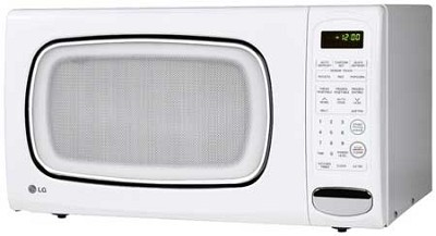 LCS1410SW 1.4 Cu Ft Counter Top Microwave Oven Recertified 90 Day Warranty