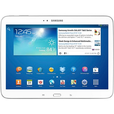 Galaxy Tab 3 (10.1-Inch, White) - OPEN BOX