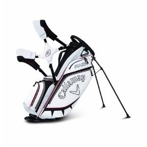 RAZR Golf Stand Bag - White