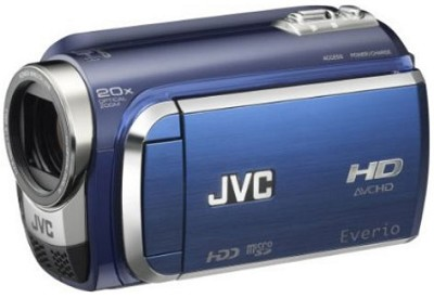 Everio Everio GZ-HD300 60GB High-Def Camcorder - Blue - REFURBISHED