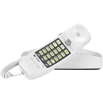 210 Corded Phone 1 Handset - White