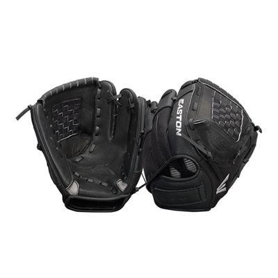 ZFX900BKBK - Z-Flex Left Hand Throw 9` Youth Ball Glove in Black - A130628LHT