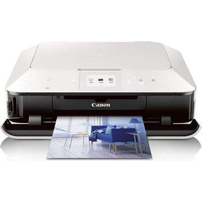 PIXMA MG6320 Wireless All-In-One Color Inkjet Photo Printer (White)