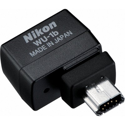 WU-1b Wireless Mobile Adapter for select Nikon Digital SLR cameras