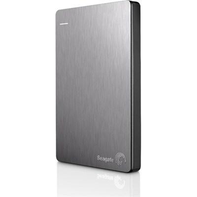 Backup Plus 2TB Portable External Hard Drive w/ Mobile  Backup Slvr - OPEN BOX