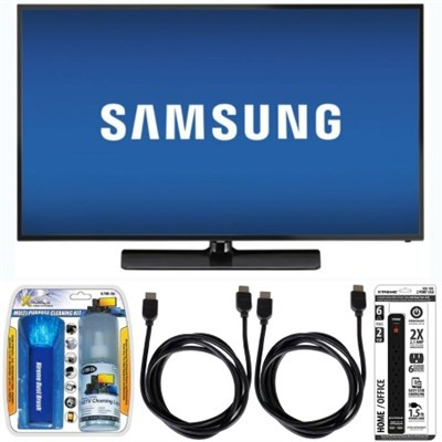 UN58J5190 58` Class J5190 5-Series Full HD LED Smart TV w/ Accessory Bundle