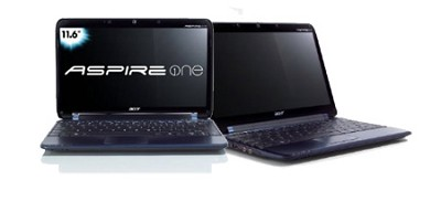 Aspire one 11.6` Netbook PC - Blue (AO751H-1080)