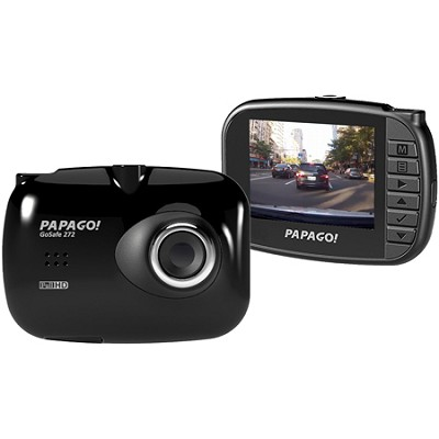 GoSafe 272 Ultra Slim Dashcam 1080p Full HD with 2.4` LCD Wide Screen (GS272-US)