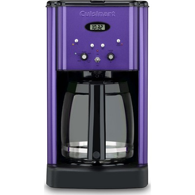 DCC-1200 Brew Central 12-Cup Coffeemaker, Metallic Purple - Factory Refurbished