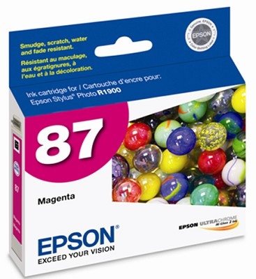 Magenta Ink Cartridge - UltraChrome HighGloss 2, Stylus Photo R1900