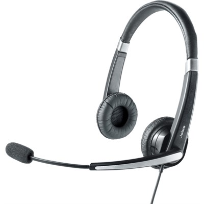 UC VOICE 550 MS Duo Lync Optimized Corded Headset for Softphone - 5599-823-109