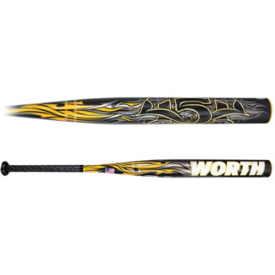 34`/ 27oz. 454 Comp USSSA Slow Pitch Softball Bats (SBLU3-34/27)