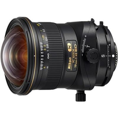 PC NIKKOR 19mm f/4E ED FX Full Format Ultra-Wide-Angle Tilt Shift Lens (20065)