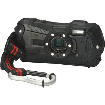 Optio WG-2 Black Waterproof Shockproof Coldrpoof Crushproof 16MP Digital Camera