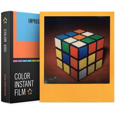 PRD4522 Polaroid 600 and Instant Lab Film, Color with Color Frames