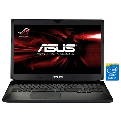 17.3` G750JW-DB71 Full HD Gaming Notebook PC - Intel Core i7-4700MQ Processor