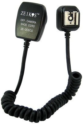 Off-Camera AF TTL Cord for Olympus E520, E620 & similar