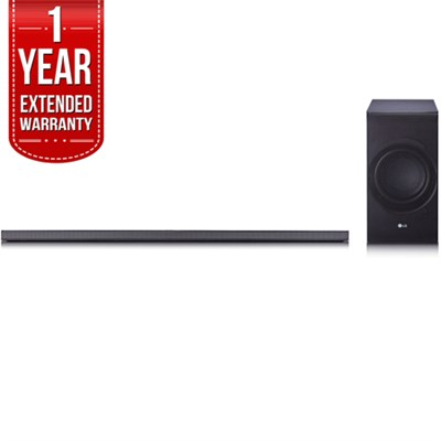 SJ8 Sound Bar w/ 4.1ch High Resolution Audio with 1 Year Extended Warranty