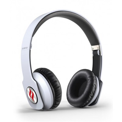 ZORO High Fashion Steel Reinforced SCCB Technology Headphones White - OPEN BOX