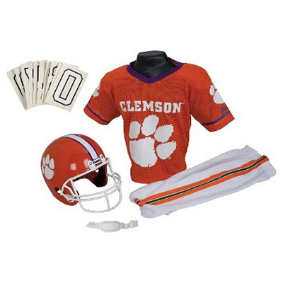 NCAA Clemson Tigers Deluxe Youth Team Uniform Set, Medium