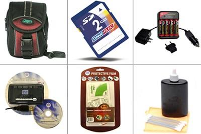 Premium Accessory Kit for Finepix A-series SD-compatible cameras