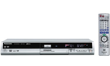 DMR-EH50S DVD Recorder/Player w/ 100 GB Hard Drive + SD Card Slot