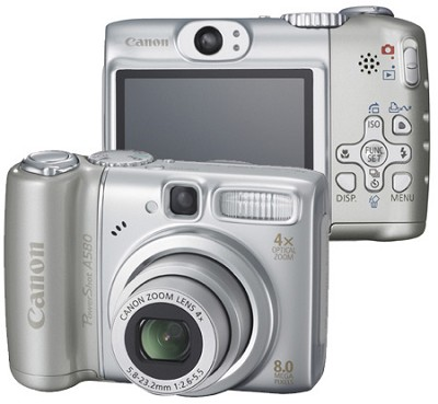 PowerShot A580 Digital Camera
