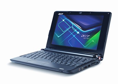 Aspire one  8.9-inch Netbook PC - Black (AOA150-1555)