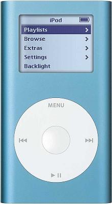 iPod mini 4GB MP3 Player - Blue