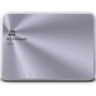 My Passport Ultra Metal Edition 1TB Silver - WDBTYH0010BSL-NESN