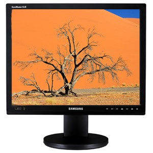 SyncMaster 20` Professional-Grade LCD Monitor with LED Backlighting (not a TV)