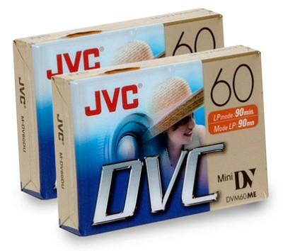 Mini DV 60-Minute Digital Video Cassette (2-pack)