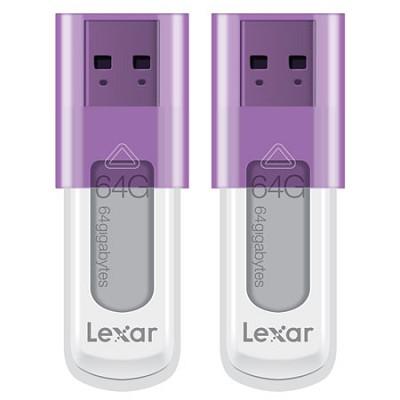 JumpDrive S50 64 GB USB Flash Drive Two Pack