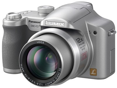 Lumix DMC-FZ7S 6-Megapixel Digital Camera (Silver)