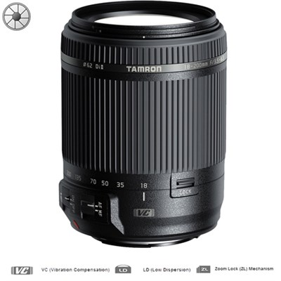 18-200mm Di II VC All-In-One Zoom Lens - Canon Mount - Certified Refurbished