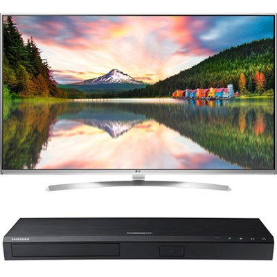 65` Super UHD Smart TV - 65UH8500+ Samsung UBDM8500 4K UHD Blu-Ray Player