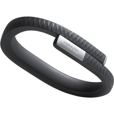 UP by Jawbone - Medium Wristband - Retail Packaging - Onyx OPEN BOX