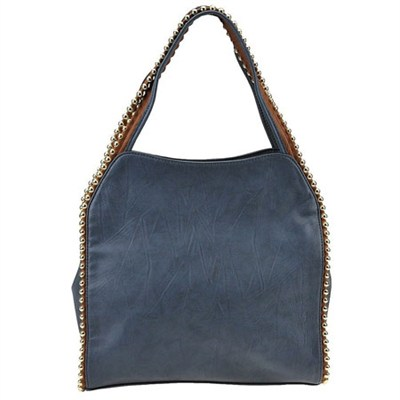 Grayson Shoulder Bag - Blue