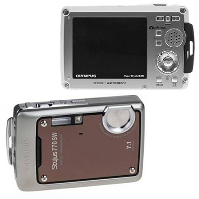 Stylus 770 SW (Bronze) 7.1 MP Digital Camera with 3x Opitical Zoom